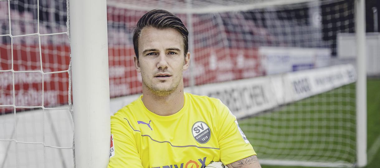 Torhüter Manuel Riemann vom SV Sandhausen beantwortet Fragen rund um Fußball, Torwart-Sein und Sauna.