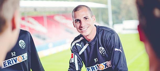 Mittelfeldspieler Stefan Kulovits, SV Sandhausen