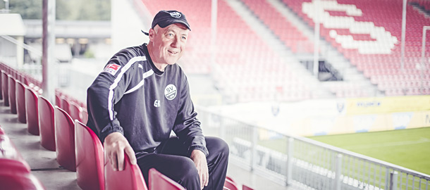 Co-Trainer des SV Sandhausen Gerhard Kleppinger