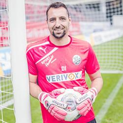 Torwart-Trainer Daniel Ischdonat