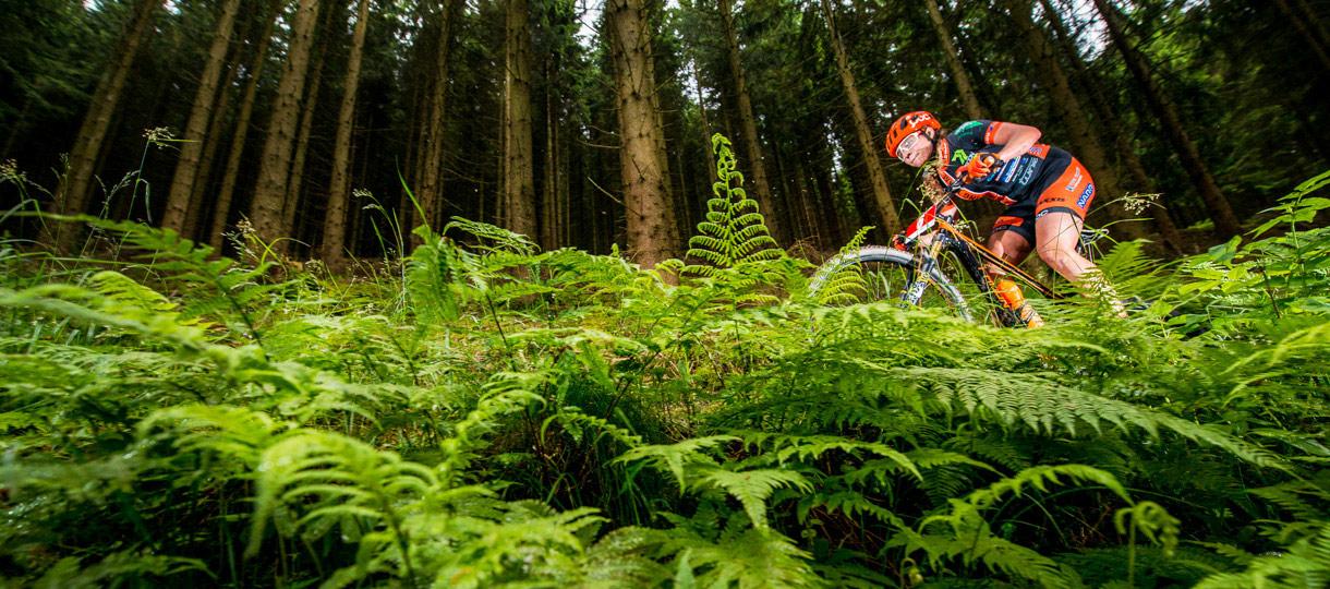Elisabeth Brandau Mountainbikerin trainiert für die Olympischen Spiele 2016