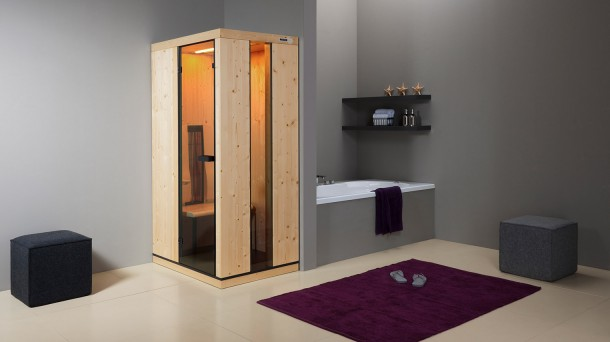 infrarotkabine soleto milde infrarot w rme r ger sauna. Black Bedroom Furniture Sets. Home Design Ideas